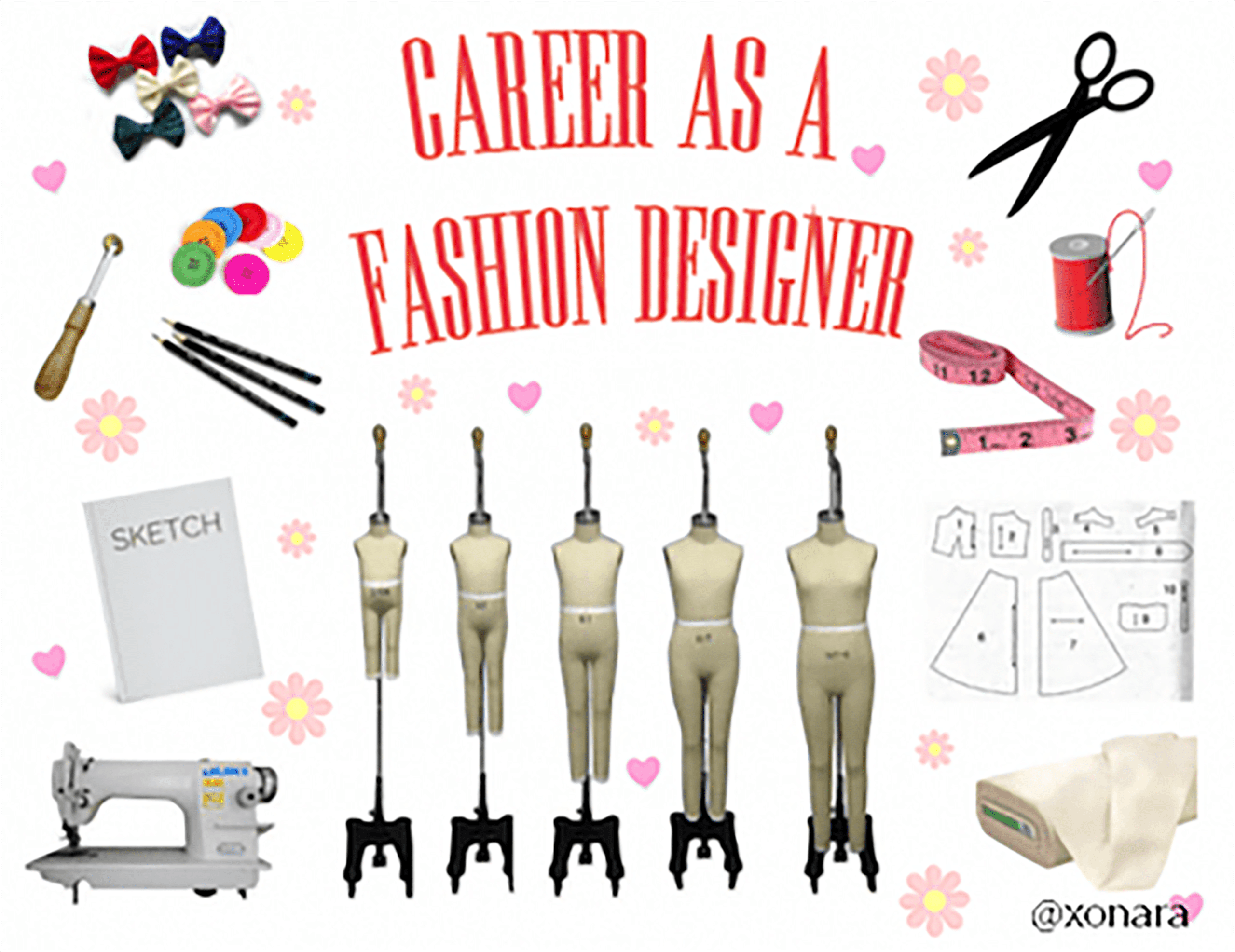 career as a fashion designer