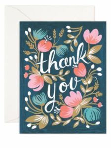 Crafting the perfect thank you note
