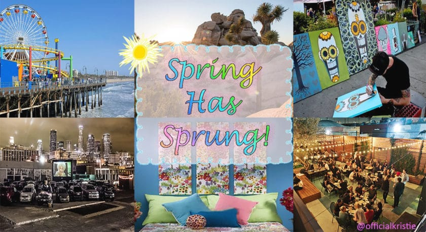 Los Angeles Spring Bucket List