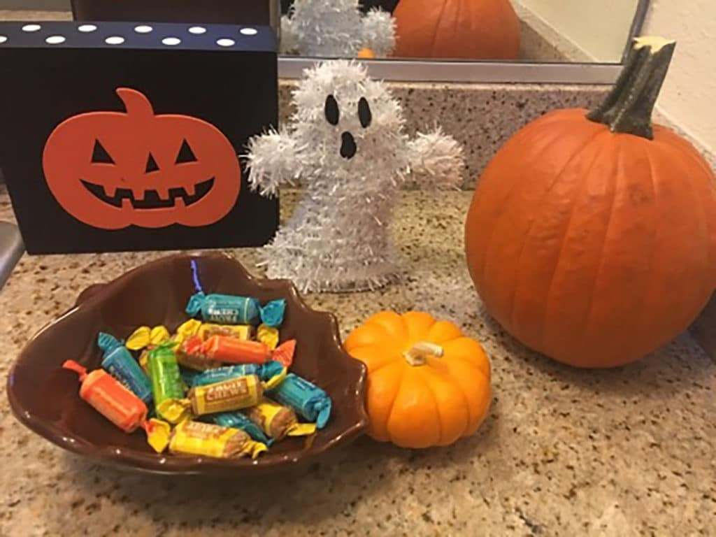 apartments ready for halloween