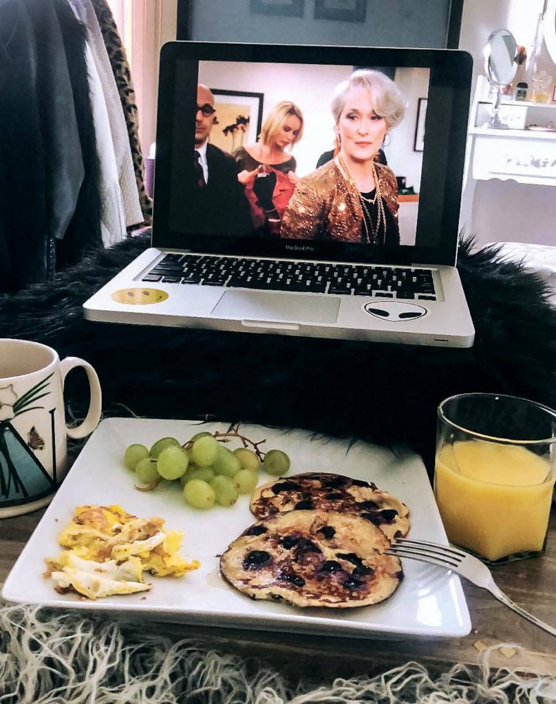 Breakfast in Bed and The Devil Wears Prada