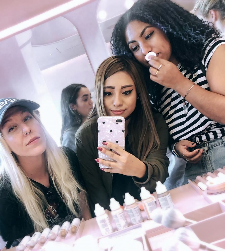 things to do in los angeles, shopping spree at glossier