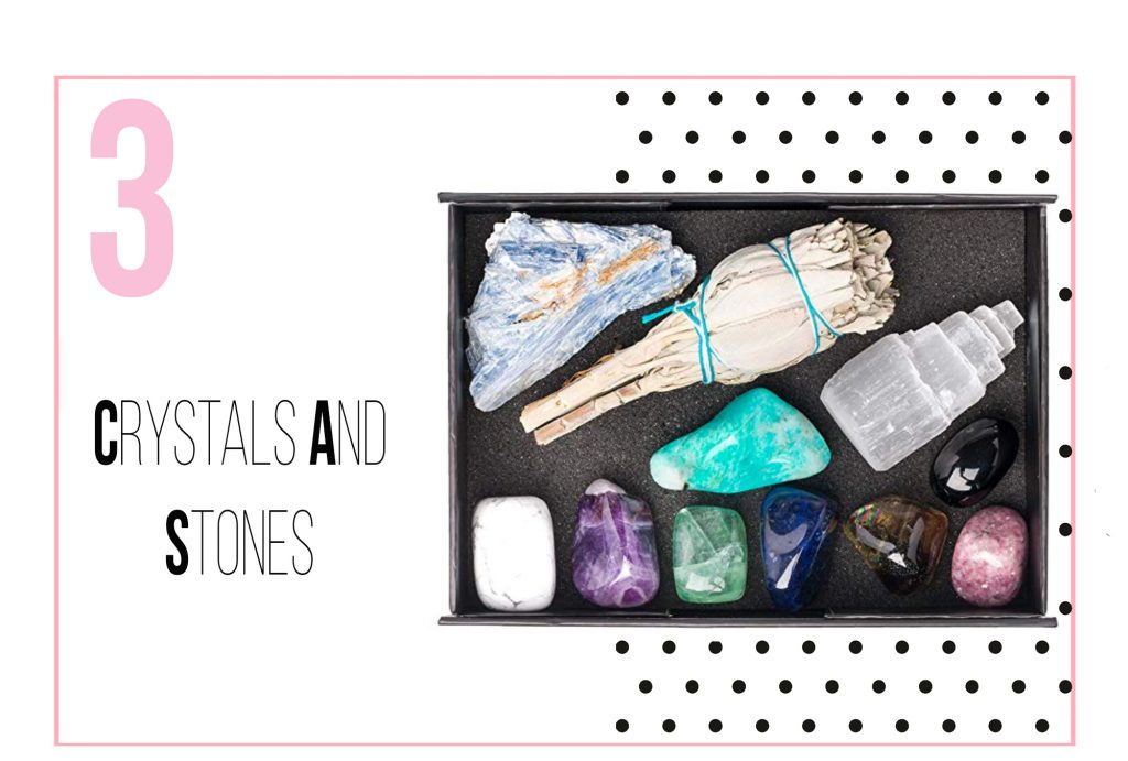 Tips for dealing with stress - Crystals and stones