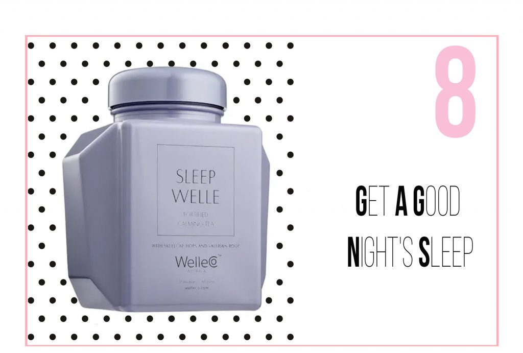 Tips for dealing with stress - Get a good night's sleep