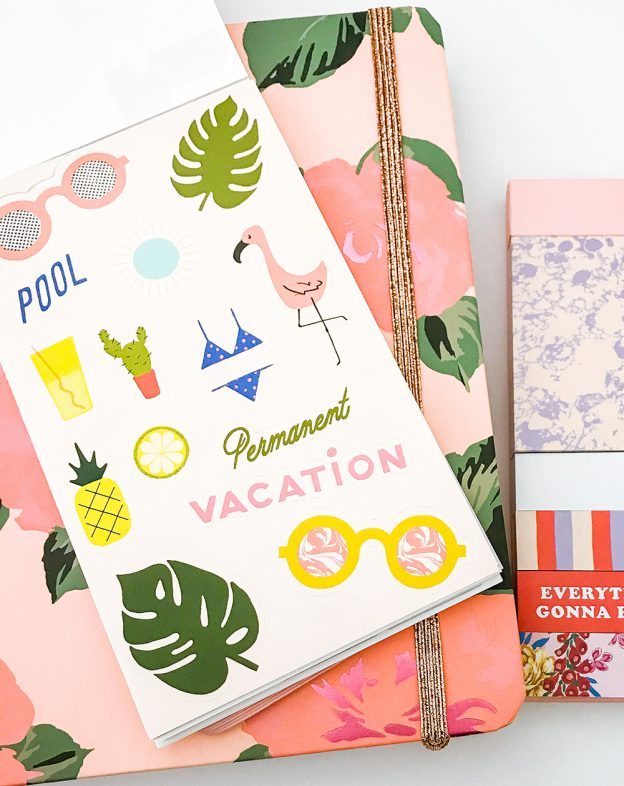 How To Use A Planner Effectively - Bando Tropical Stickers