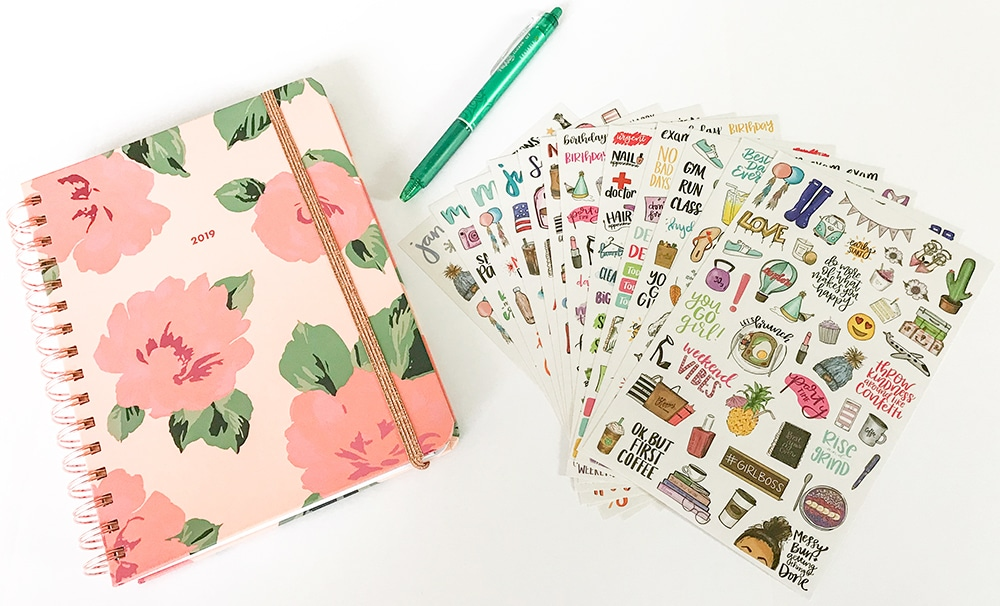 How To Use A Planner Effectively - Bloom Stickers