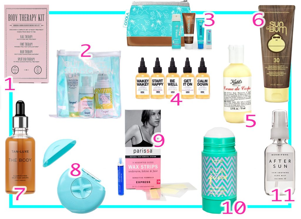 Best Bath and Body Travel Size Products