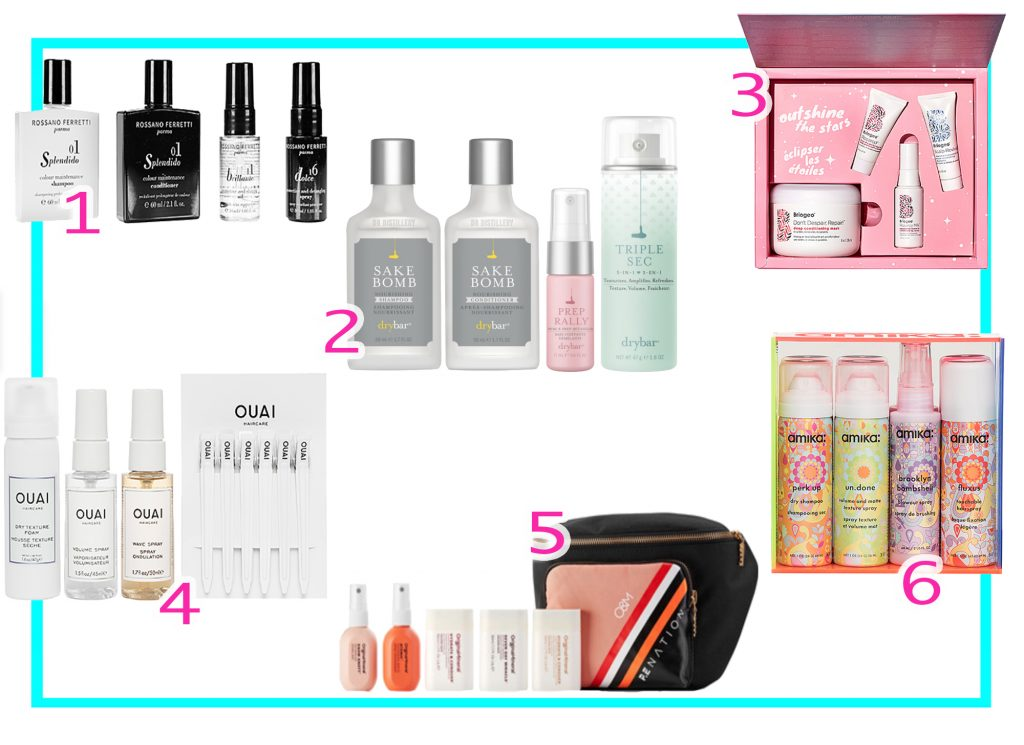 Best Travel Size Haircare Kits