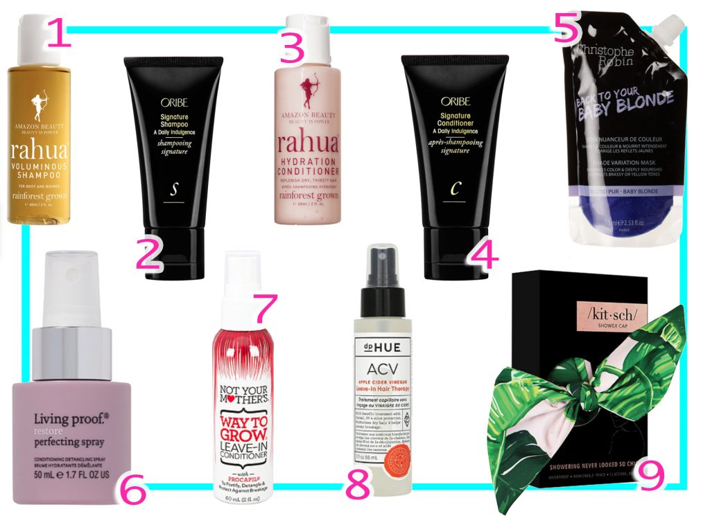 Best Travel Size Mini Haircare Products