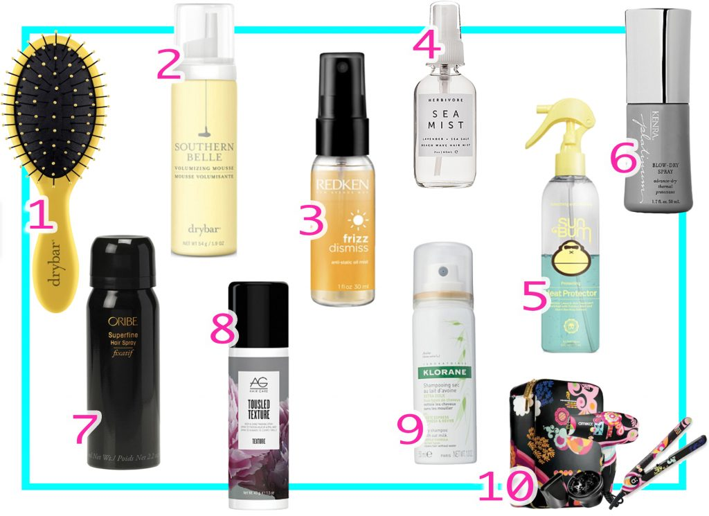 Best Travel Size Styling Products