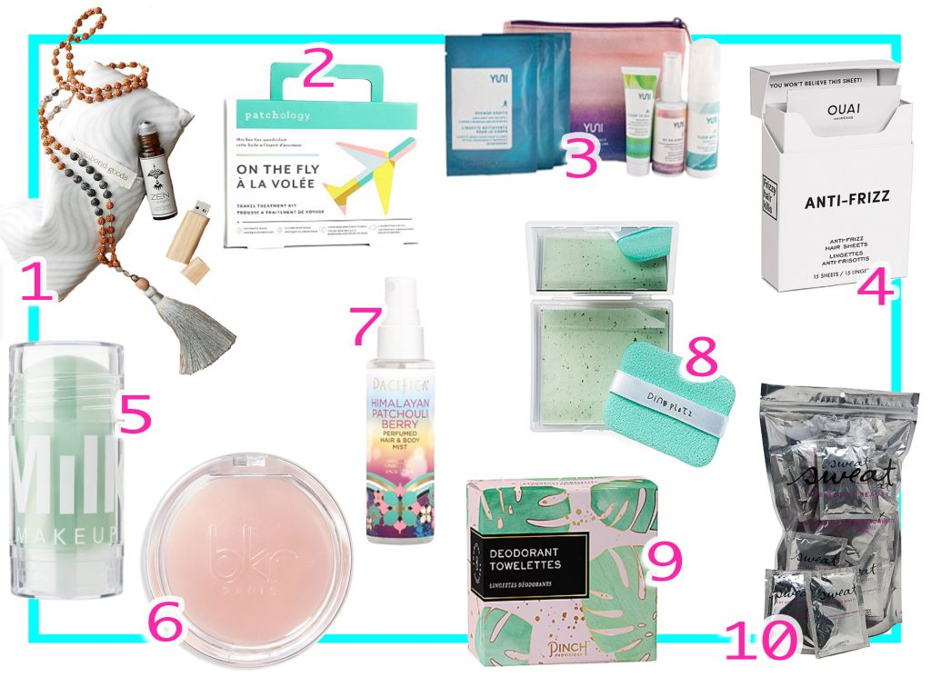 Best Travel Size Products--To Use On The Road or In The Air