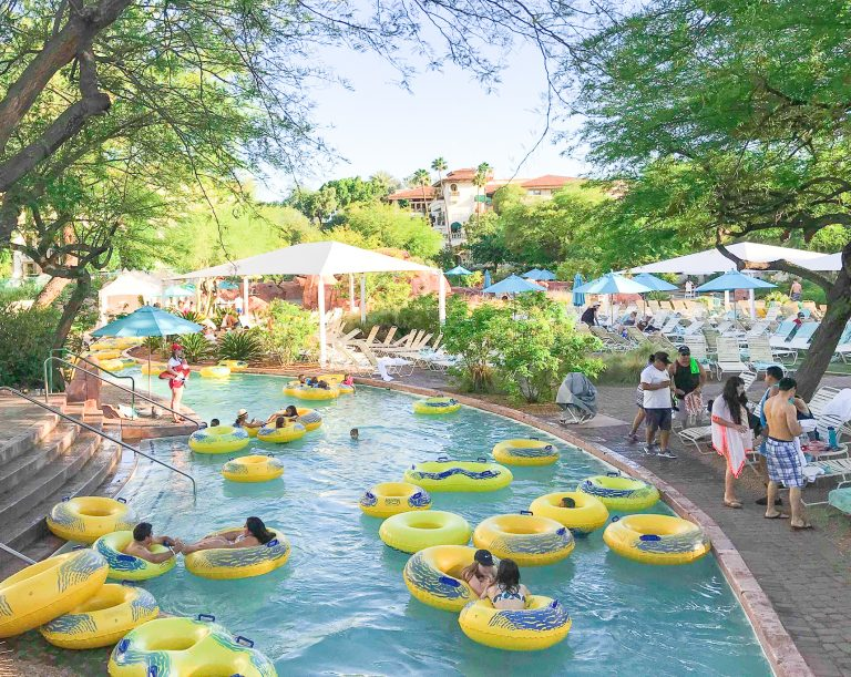 Lazy River at The Oasis Water Park
