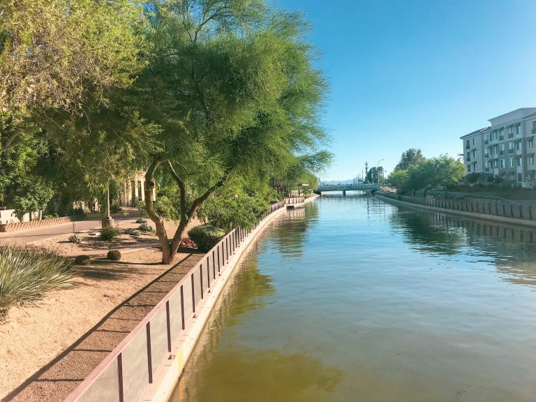 Old Town Scottsdale Canals