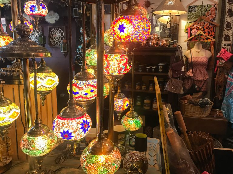 Tiffany Lamps at Rustic Rose Gifts and Decor