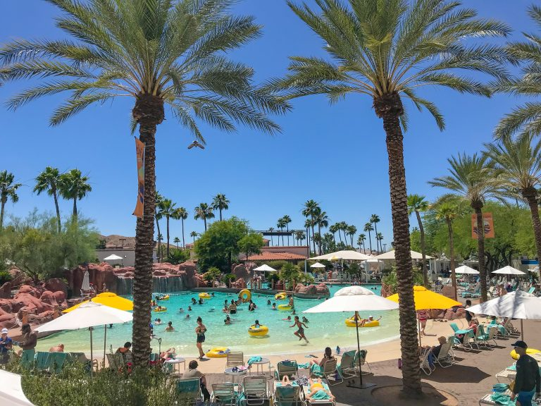 The Oasis Water Park Wave Pool