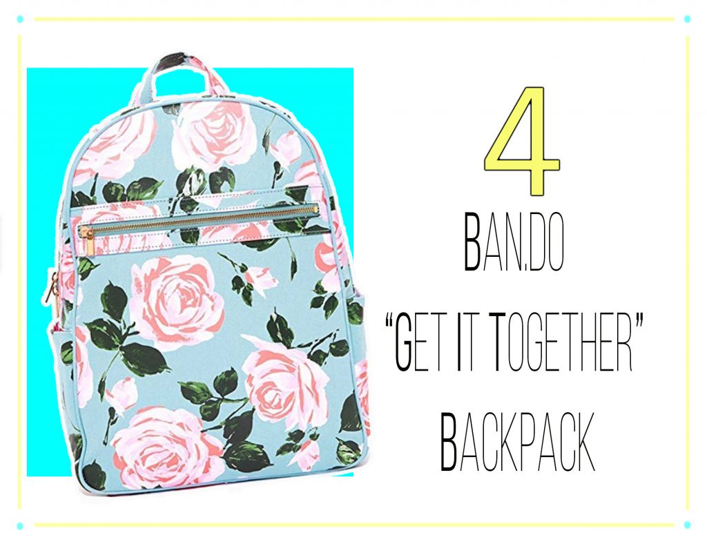 """10 Best Purchases of 2019 - Ban.do """"Get it Together"""" Backpack"""