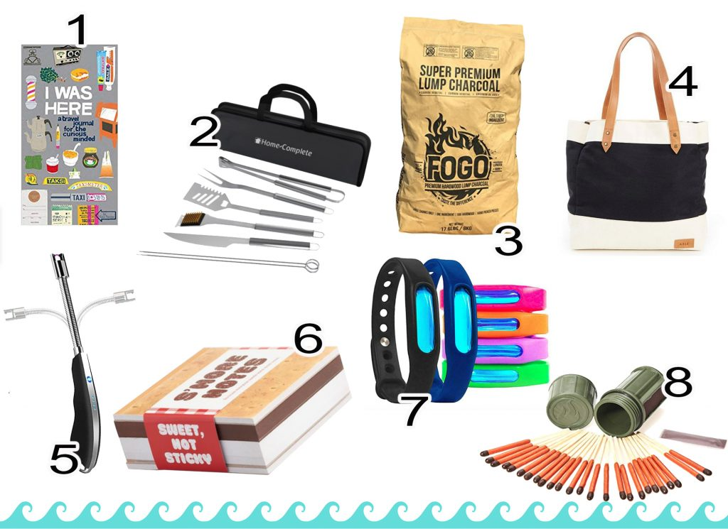 Beach Packing List--The Extras