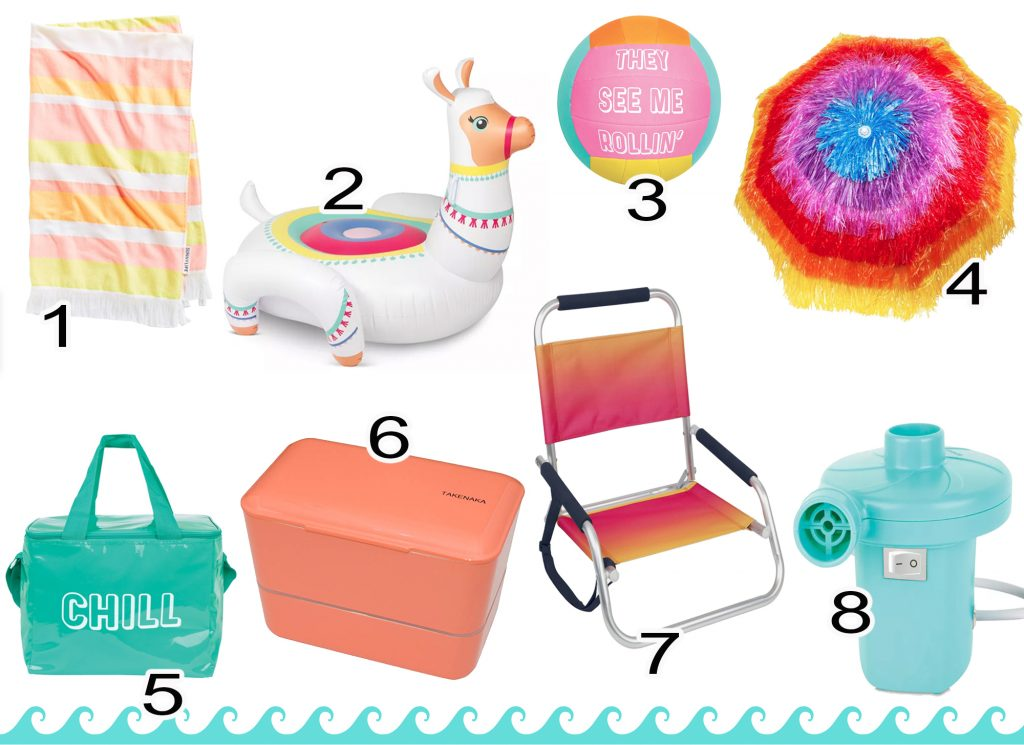 Beach House Packing List--What To Bring to the Beach