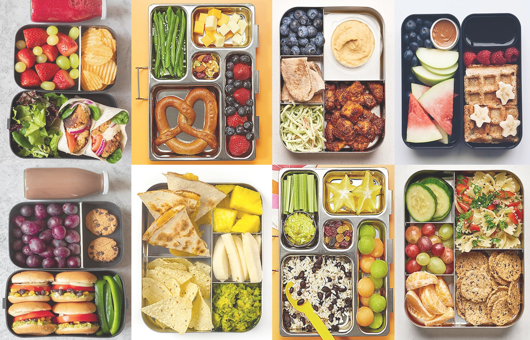 Summertime Bento Box Ideas For The Pool or The Beach