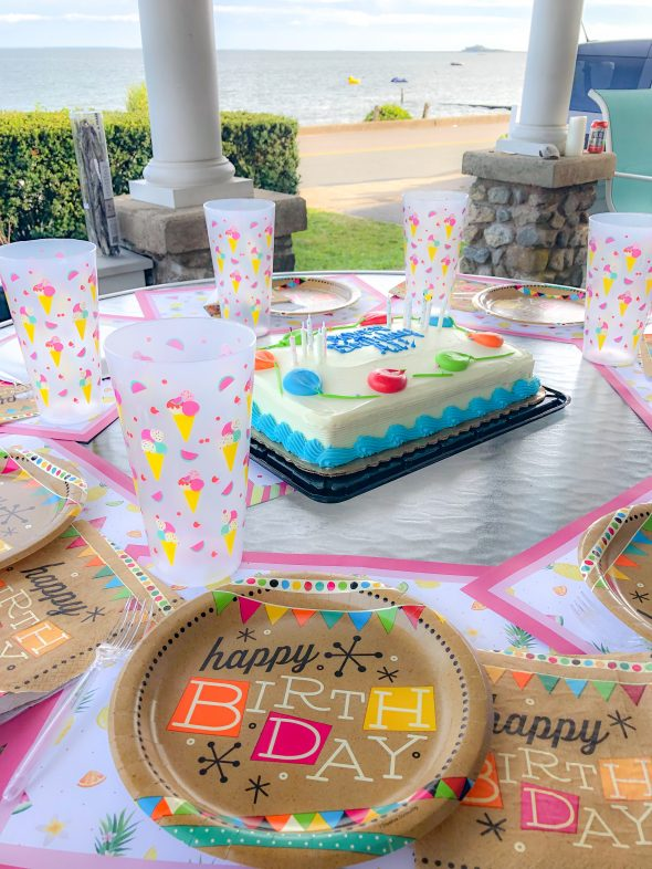 Birthday party on the Connecticut Shoreline