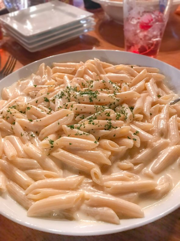 Alfredo at The Log Cabin in Clinton, CT