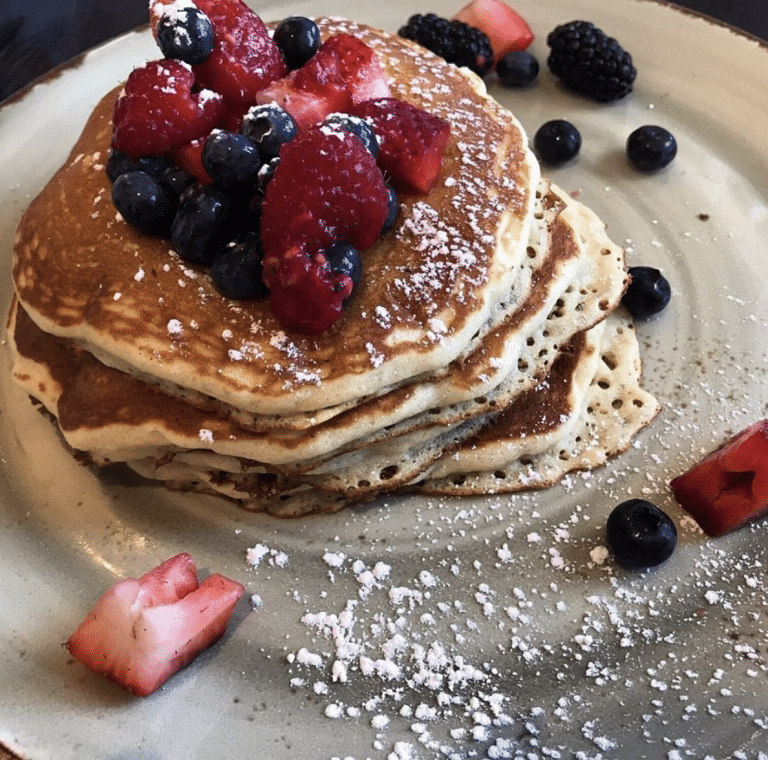 Pancakes from 1 Pico at Shutters On The Beach
