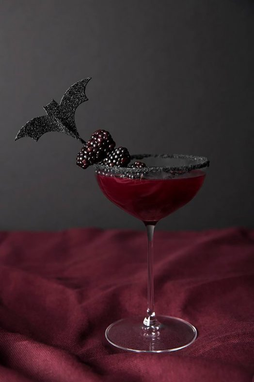 Elegant Halloween Party Drink