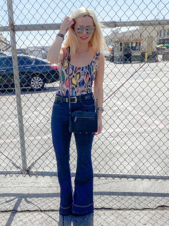 Bell Bottoms and Snakeskin (Plus a Fun Way to Spend a Sunday Afternoon in L.A.)