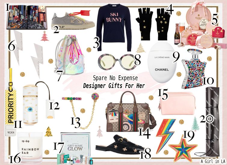Spare No Expense Designer Gifts For Her