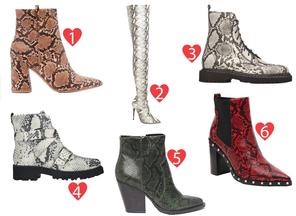 A Guide to Choosing The Right Snakeskin Boots This Season