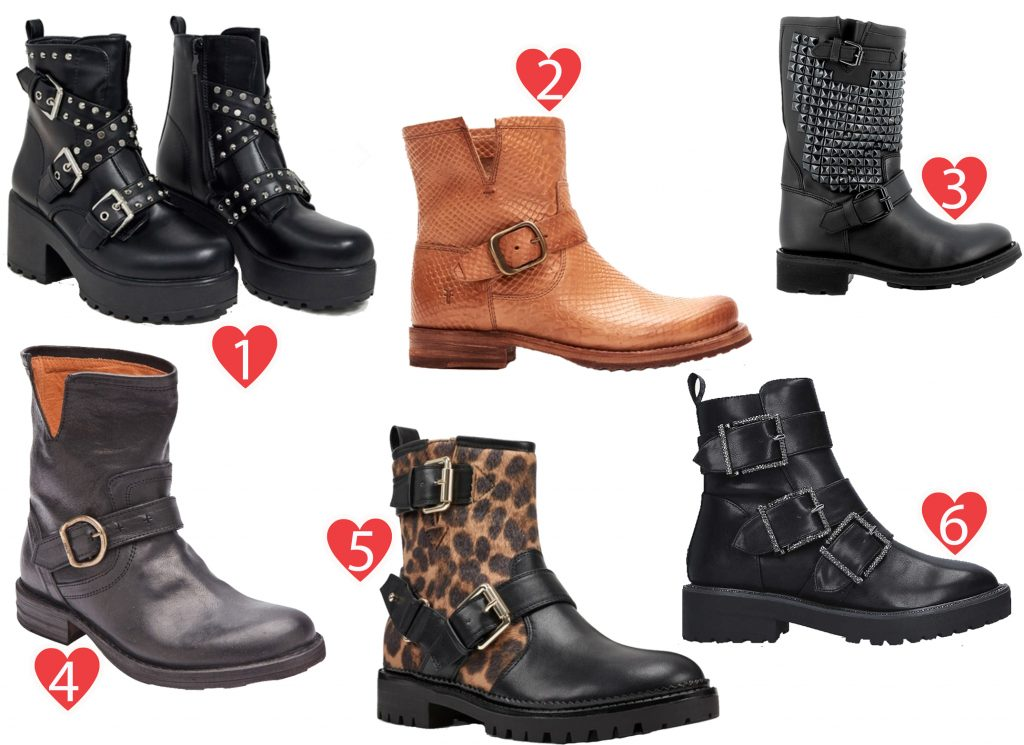 A Guide to Choosing The Right Biker Boots This Season