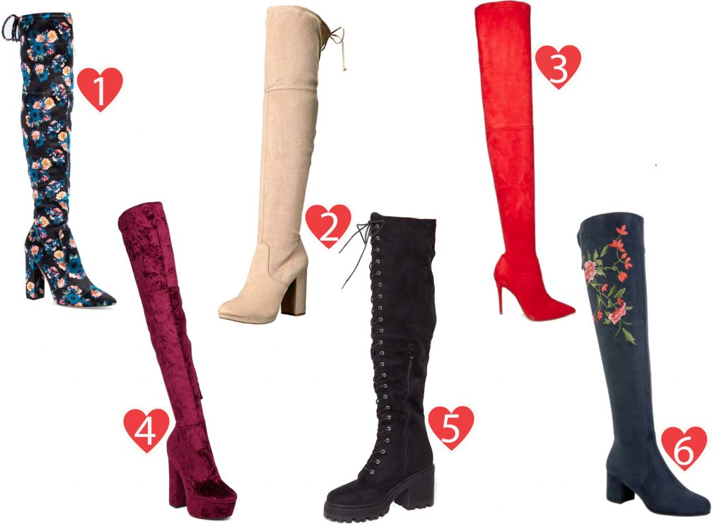 A Guide to Choosing The Right Over-The-Knee and Thigh-High Boots This Season