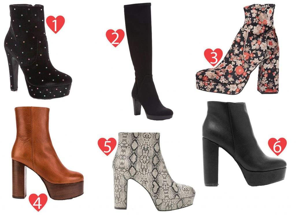 A Guide to Choosing The Right Platform Boots This Season