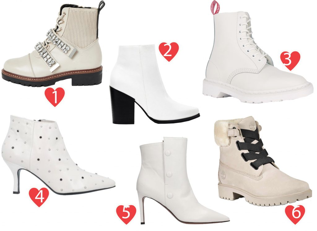 A Guide to Choosing The Right White Boots This Season