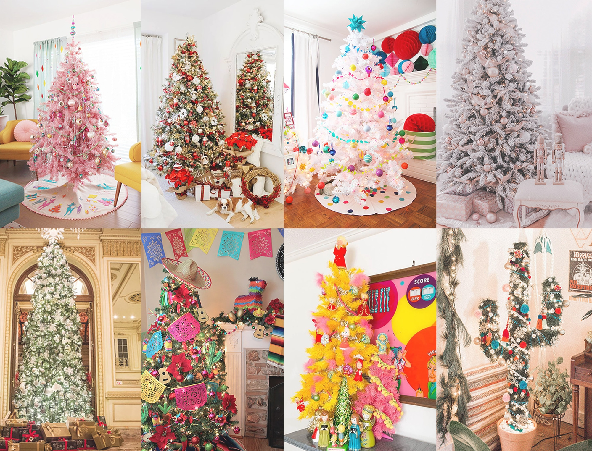 30 Awe-Inspiring Christmas Tree Themes To Choose From