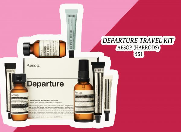 My Holiday Wish List: The Departure Travel Kit from AESOP