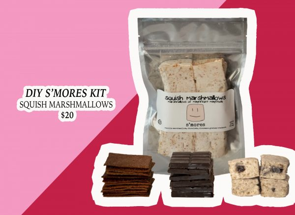 My Holiday Wish List: DIY S'mores Kit from Squish Marshmallows