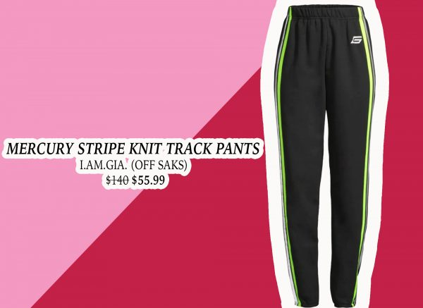 My Holiday Wish List: Mercury Strip Track Pant from I.AM.GIA