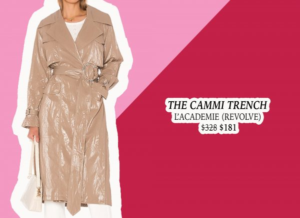 My Holiday Wish List: L'Academie Shimmery Trench Coat