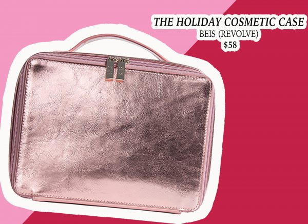 My Holiday Wish List: Beis Limited Edition Rose Gold Cosmetic Case