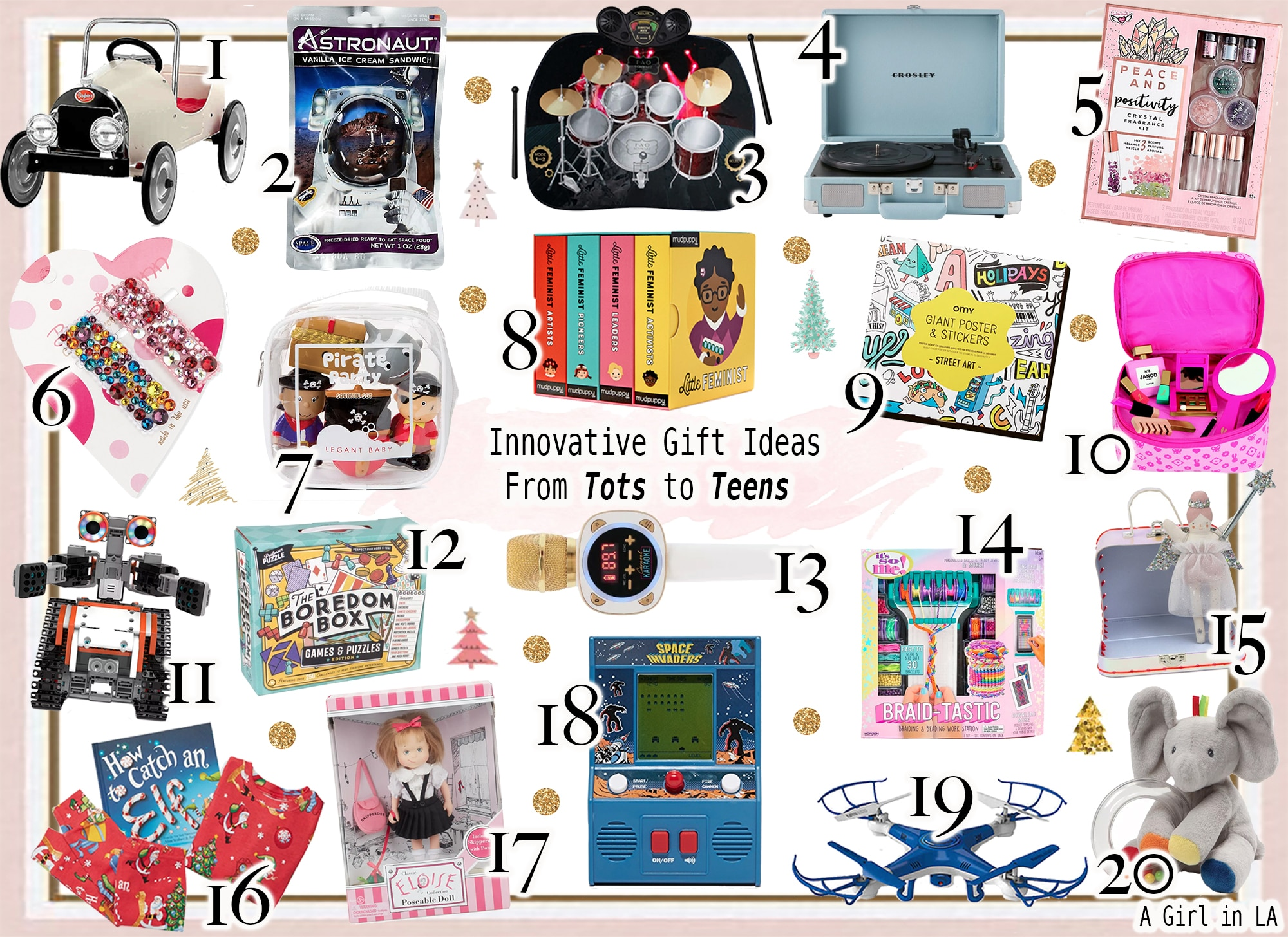 Innovative Gifts Ideas For Tots to Teens