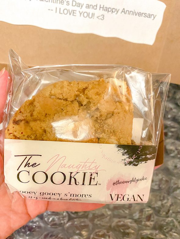 """What I Loved in February 2020: Vegan """"Ooey Gooey S'mores"""" Cookies"""