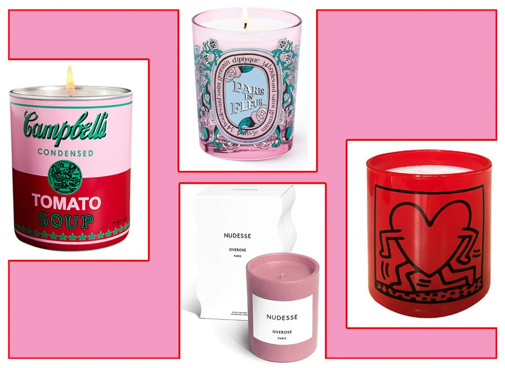 Candle Gift Ideas for Valentine's Day