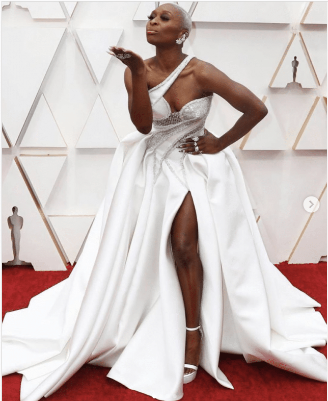 The Best Looks On The Oscars Red Carpet: Cynthia Erive