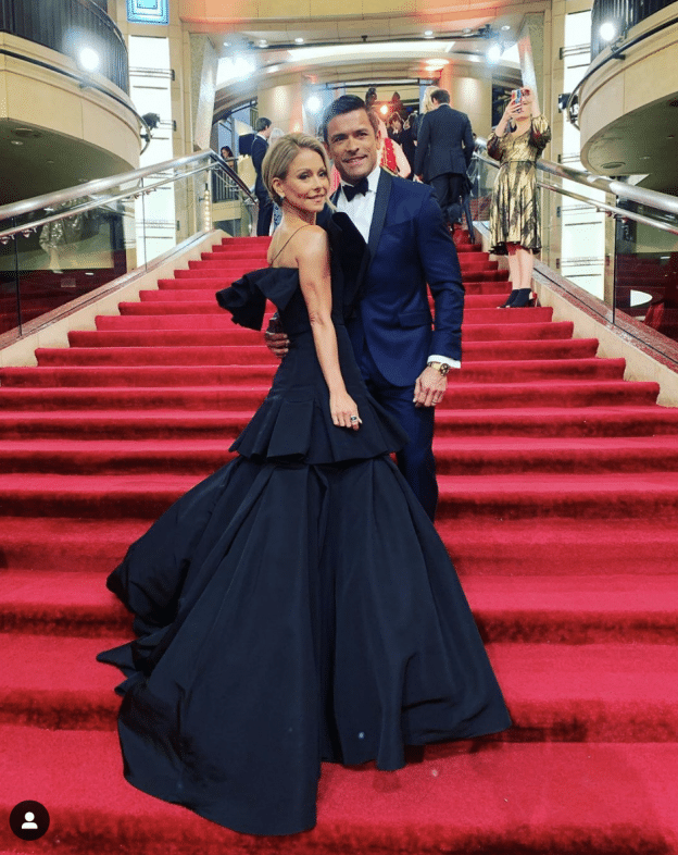 The Best Looks On The Oscars Red Carpet: Kelly Ripa