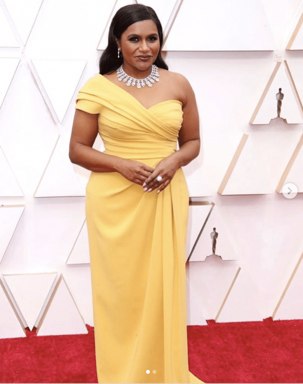 The Best Looks On The Oscars Red Carpet: Mindy Kaling