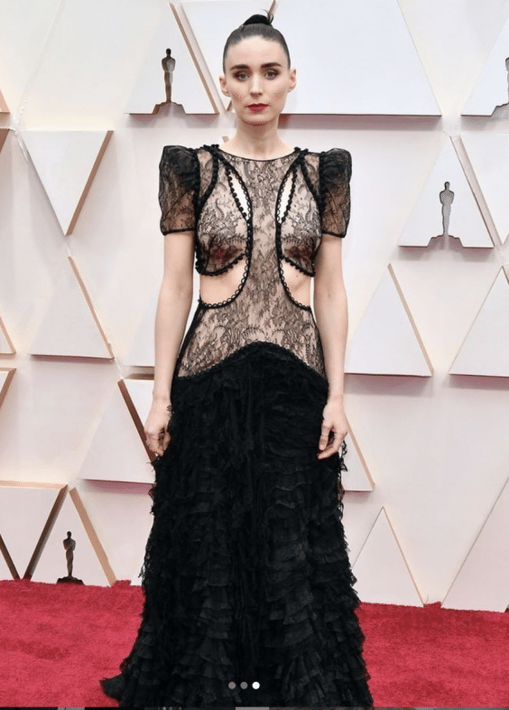 The Best Looks On The Oscars Red Carpet: Rooney Mara