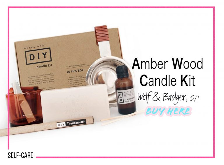 DIY Crafts: Amber Wood Candle Kit