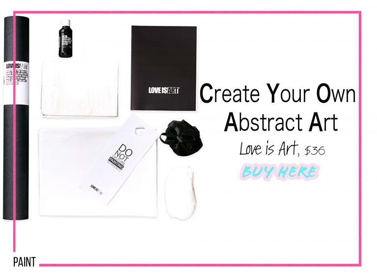 DIY Crafts: Create Your Own Abstract Art