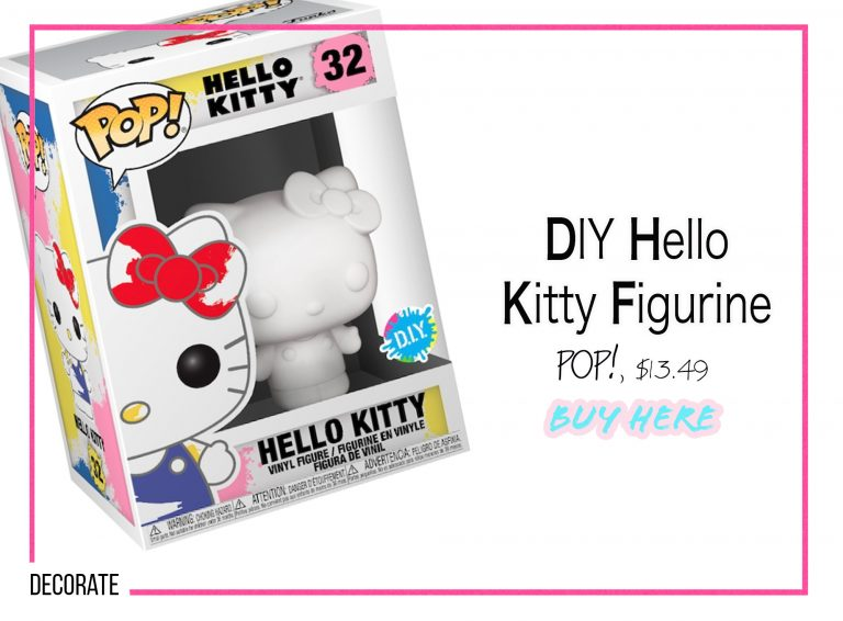 DIY Crafts: DIY Hello Kitty Figurine